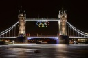 TOPSHOTS Tower Bridge adorned with the O
