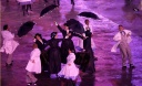 Performers take part in the opening ceremony of the London 2012 Olympic Games
