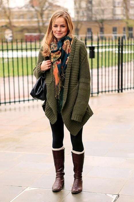 Autumn 2012 Street Style Fashion Looks 7 Strop De Lumina