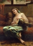 Charles-Landelle-Algerian-Woman-Playing-A-Darbouka