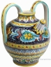 ceramic-majolica-pitcher-handle-acanthus-blue-fd-38