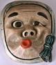 japanese art - hyottoku noh mask