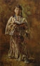 Native American LDS Winborg oil painting artwork shoshone ponder it in your heart