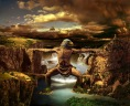 Omul - pod intre munti