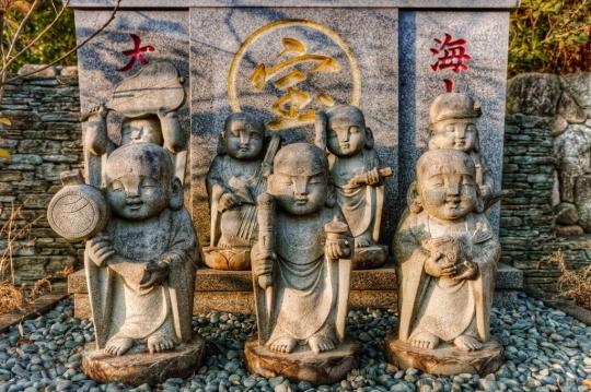 Seven Gods of fortune Shichifukujin