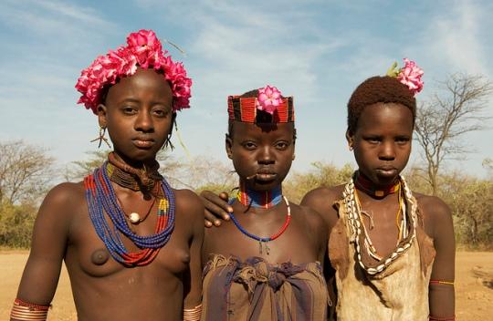 hamer girl - ethiopia