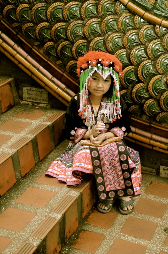 Little Hill Tribe Girl - Chiang Mai - Thailand