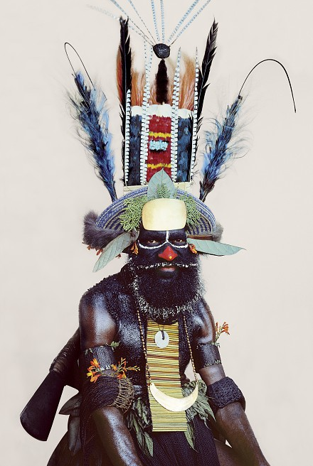 New Guinea tribe