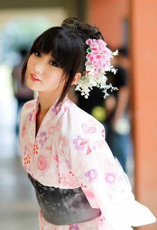 pink yukata 30