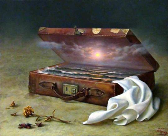 Equipaje' de Alex Alemany (aunque bien pudiera ser llamada 'La mateta de las ilusiones'
