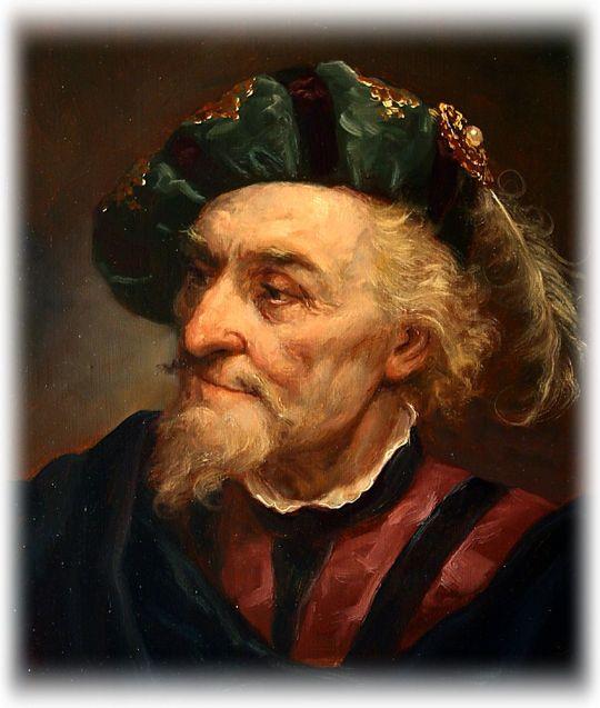 Andrei Shishkin - An old man in a beret