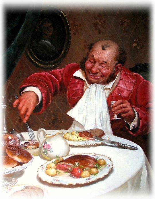 Andrei Shishkin - At Dinner