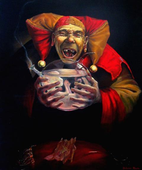 Boris Dubrov is a famous Israeli artist,1