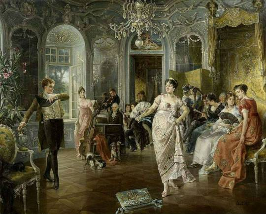 Carl Herpfer - Aristocratic life