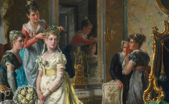 Carl Herpfer - Dressing the bride