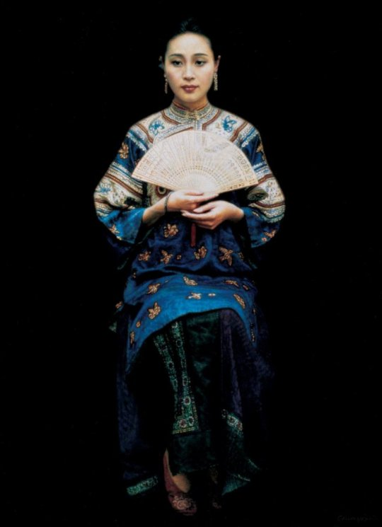 Chen Yifei 1946-2005 - Chinese Figurative painter - maher art gallery11