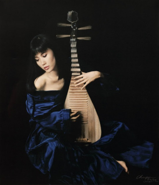 Chen Yifei 1946-2005 - Chinese Figurative painter - maher art gallery16