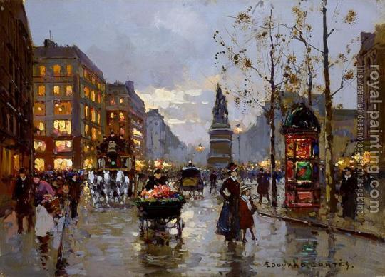 Edouard Cortes-Place de Clichy