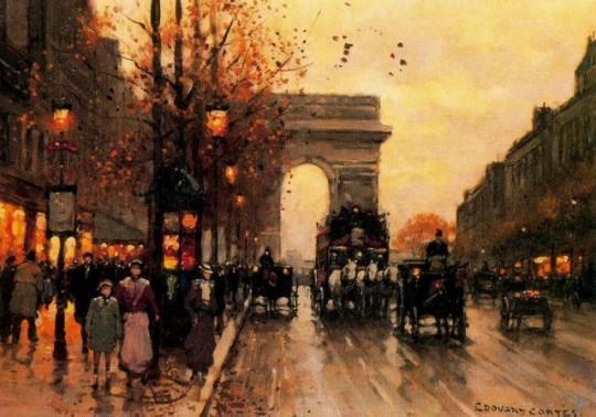 Edouard Leon Cort_s - L__toile