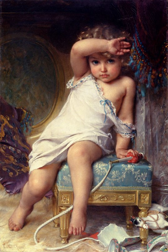 Emile Munier - The Broken Vase