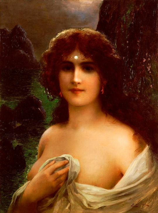 Emile Vernon - Sea-nymph