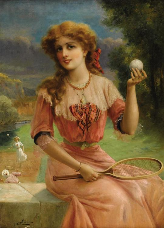 Emile Vernon - Tenis anyone