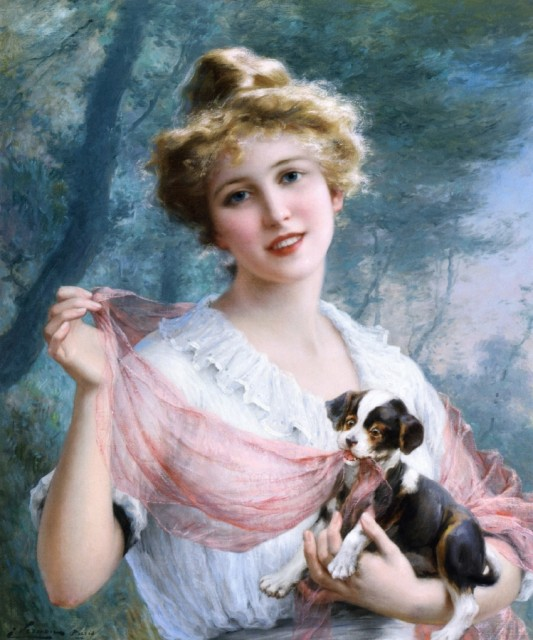 Emile Vernon - The Mischievous Puppy