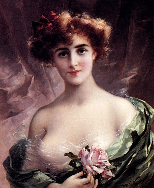 Emile Vernon - the_pink_rose