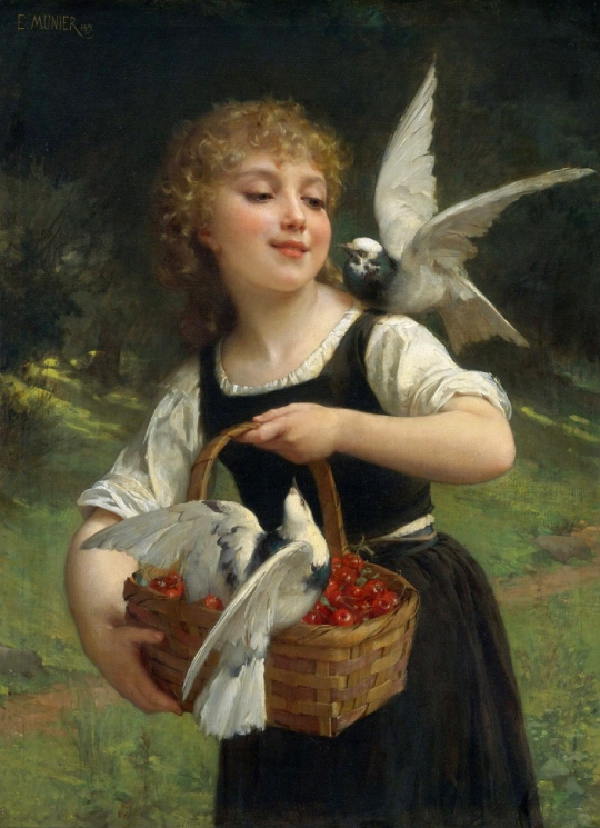 Emile_Munier Messenger of Love