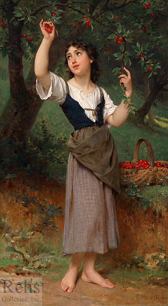 Emile_munier_the_cherry_tree