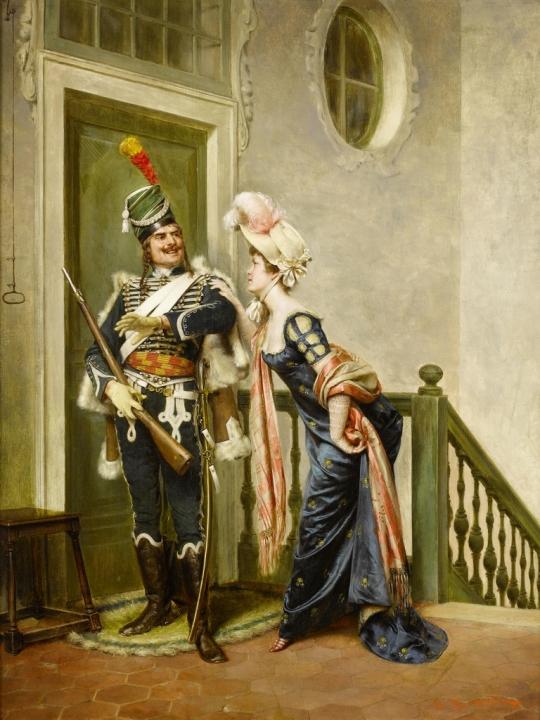 Frédéric_Soulacroix_The_gallant_officer