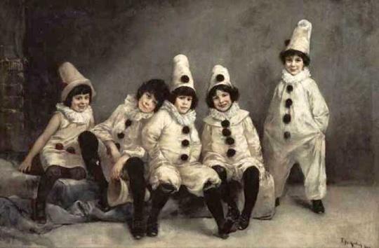 Friedrich August von Kaulbach - Children's Carnival