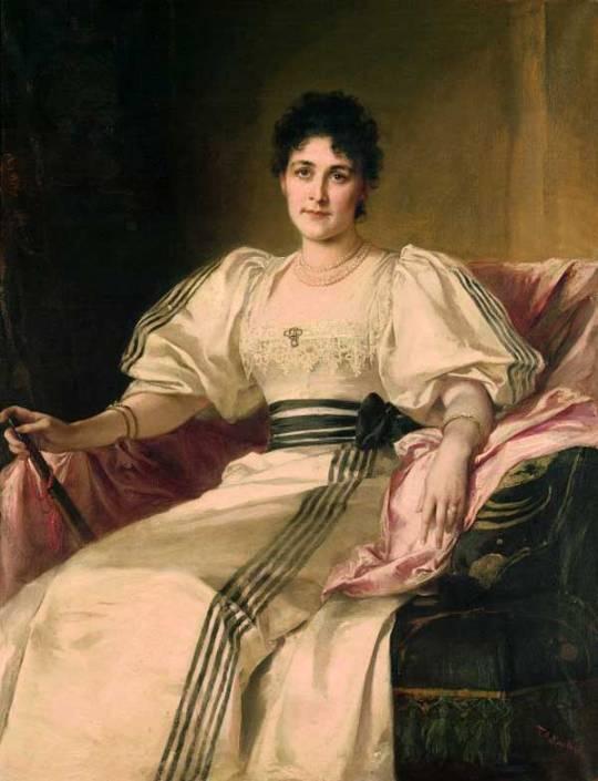 Friedrich August von Kaulbach - Clara Von Waetjen