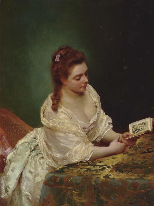 Gustave Jean Jacquet - La lettre