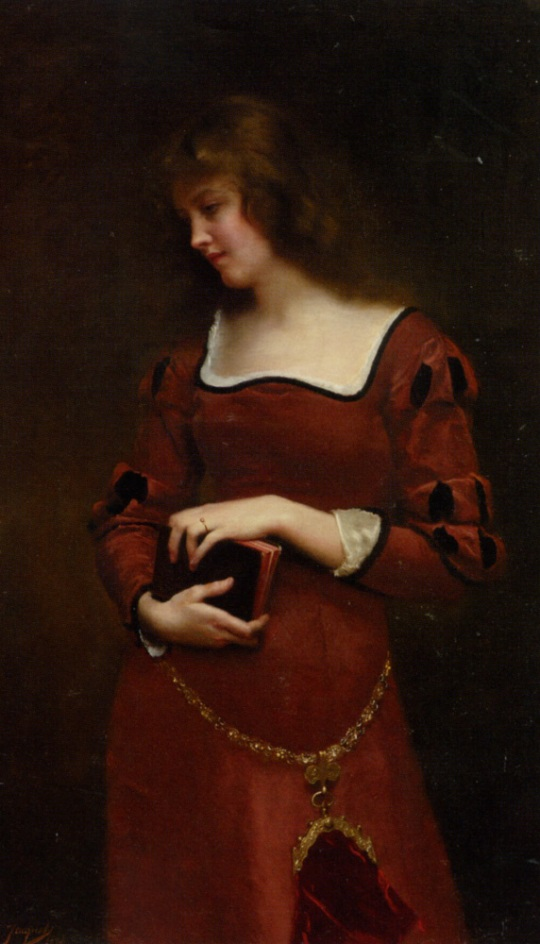 gustave-jean-jacquet-wistful-thoughts