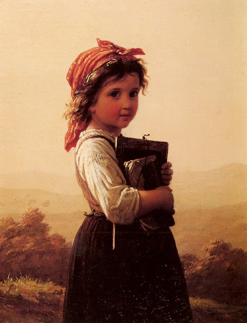 Johann Georg Meyer von Bremen - a_little_schoolgirl-large