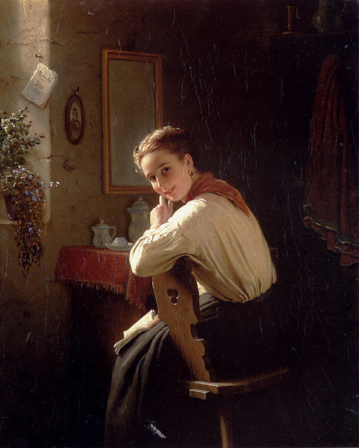 Johann Georg Meyer von Bremen - an_interrupted_moment-large