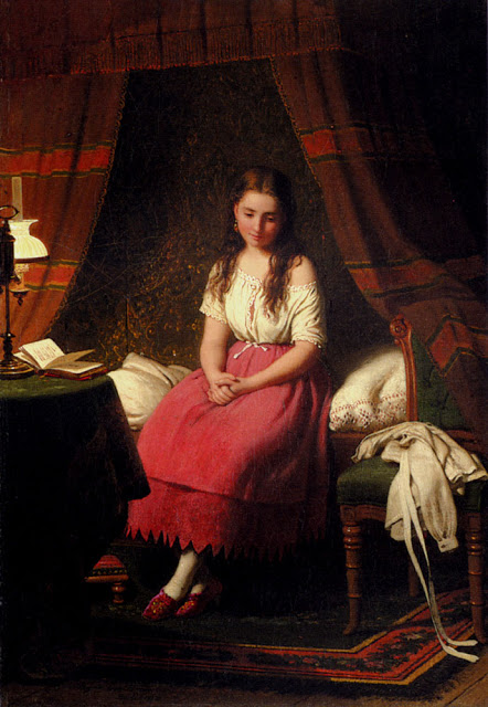 Johann Georg Meyer von Bremen - contemplation