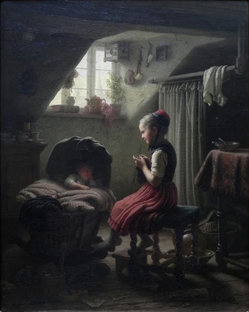 Johann_Georg_Meyer_Little_Housewife
