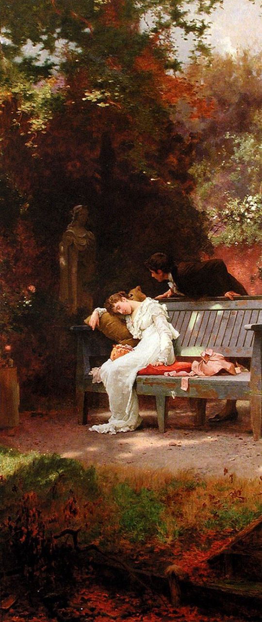 marcus-stone-british-1840-1921-a-stolen-kiss