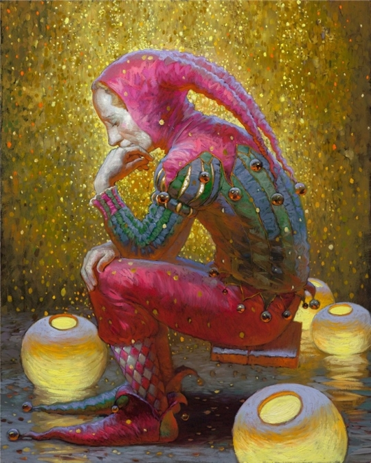 Siren song - Victor Nizovtsev 1965 - Russian Fantasy painter 25