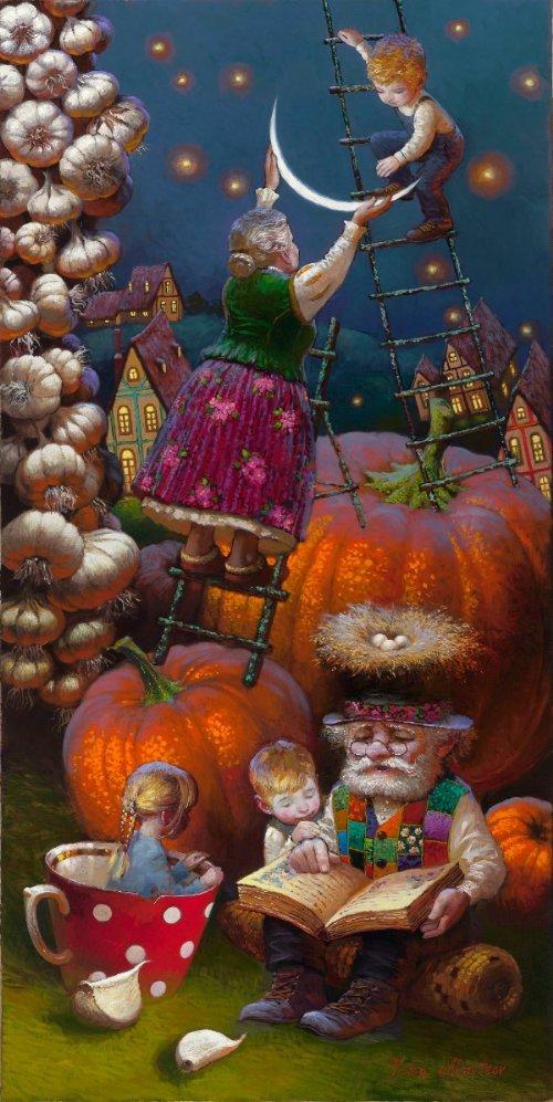 Siren song - Victor Nizovtsev 1965 - Russian Fantasy painter - Victor Nizovtsev1
