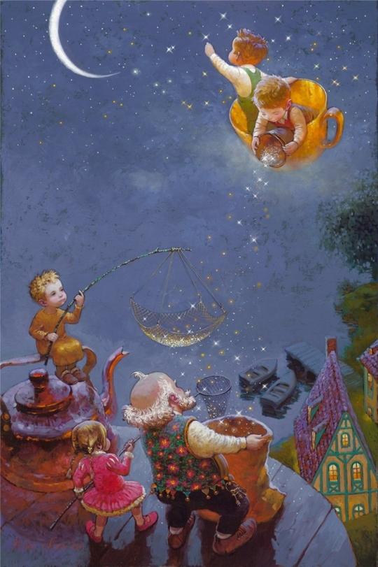 Siren song - Victor Nizovtsev 1965 - Russian Fantasy painter1