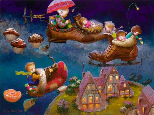 Siren song - Victor Nizovtsev 1965 - Russian Fantasy painter(27)