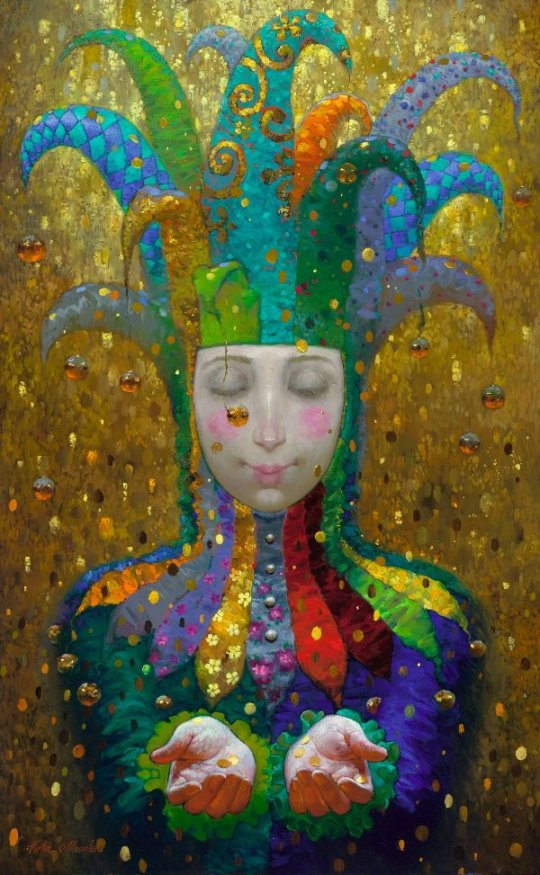 Siren song - Victor Nizovtsev 1965 - Russian Fantasy painter30