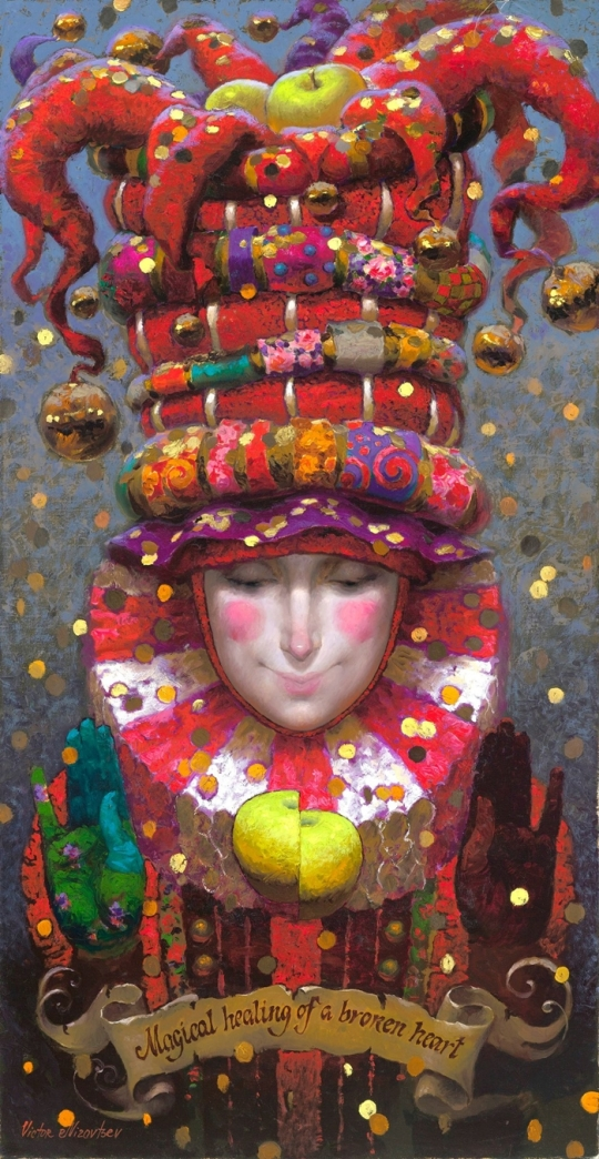 Siren song - Victor Nizovtsev 1965 - Russian Fantasy painter(9)