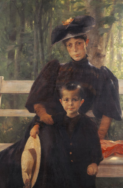the-artist-s-wife-with-their-son-1895