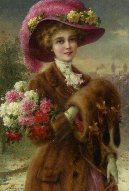 Vernon_Emile_Winter_Beauty_1910_Oil_on_Canvas-huge