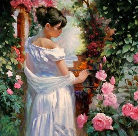 Vladimir Volegov - Admirand trandafirii
