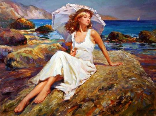 Vladimir Volegov - By the Seaside